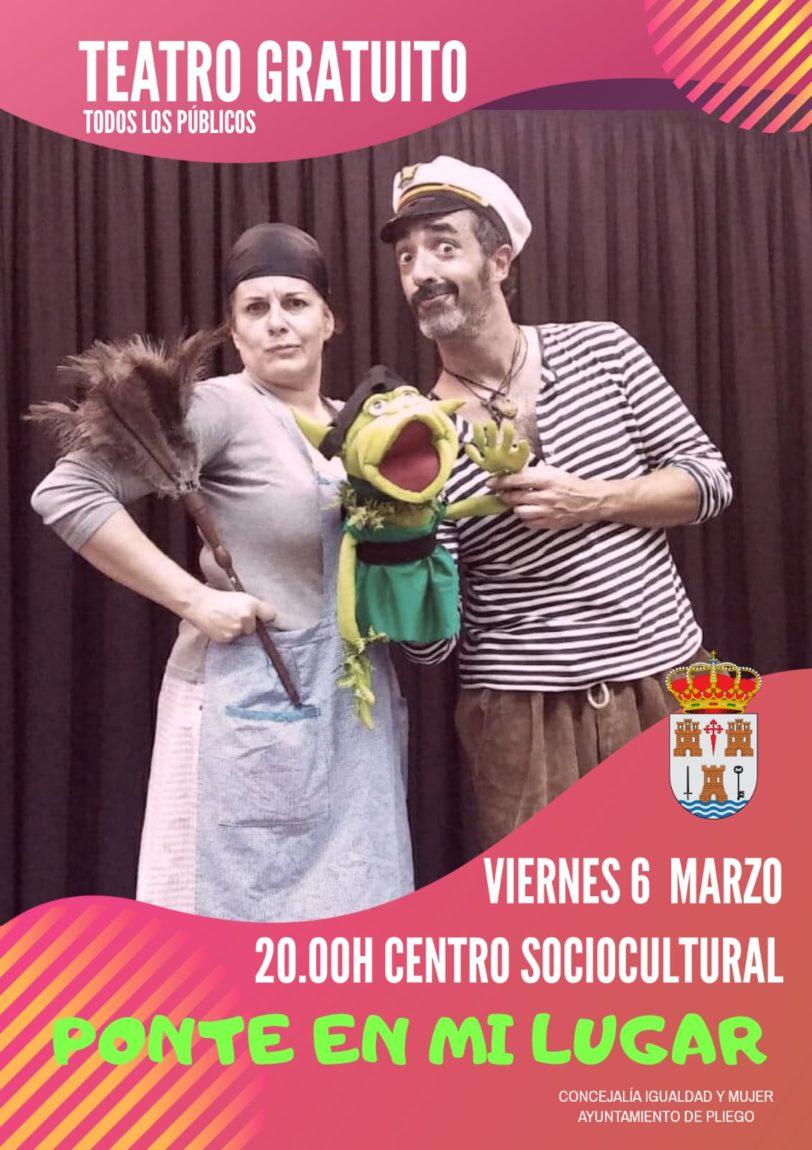 Obra de teatro gratuita: «Ponte en mi lugar»