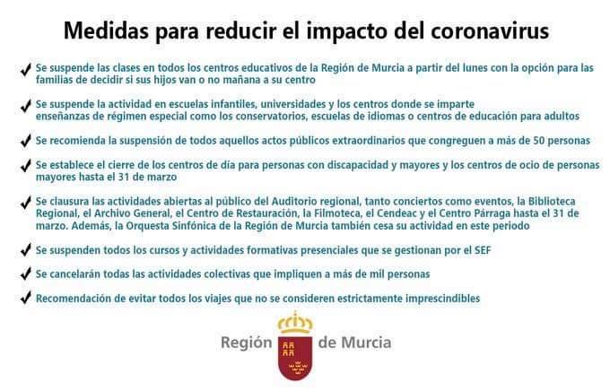 Consejos de las autoridades para reducir el impacto del Covid-19