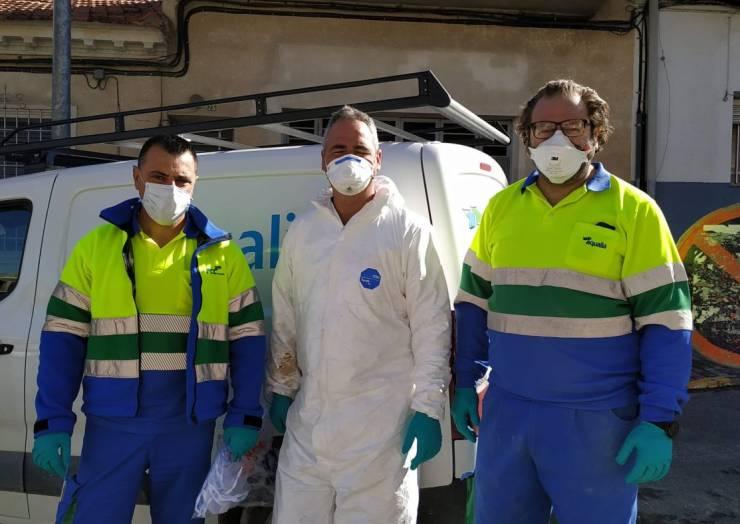 El Ayuntamiento de Pliego hace reparto de mascarillas