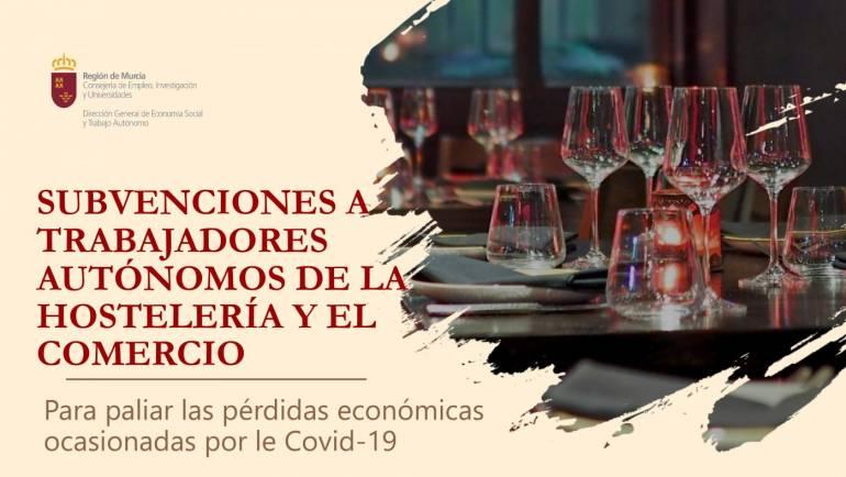 SUBVENCIONES A TRABAJADORES AUTÓNOMOS DE LA HOSTELERÍA Y EL COMERCIO