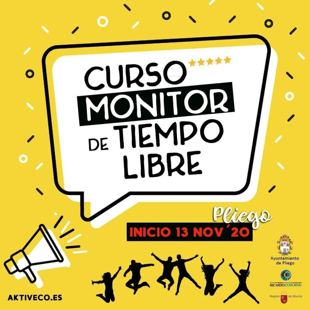Inicio del curso de Monitor de Ocio y Tiempo Libre, 13 de noviembre