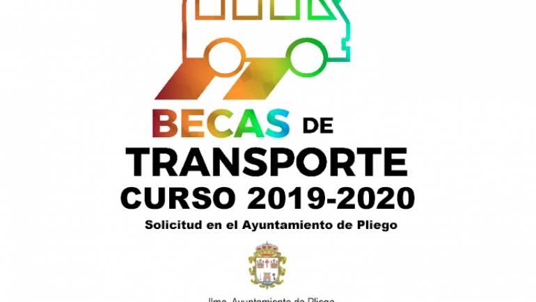 ABIERTO EL PLAZO PARA LA SOLICITUD DE BECAS DE TRANSPORTE DEL CURSO 2019-2020