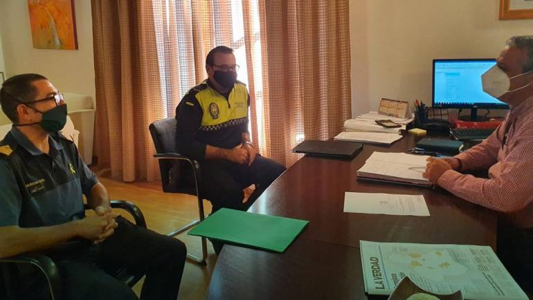 Constituida la mesa de coordinación policial