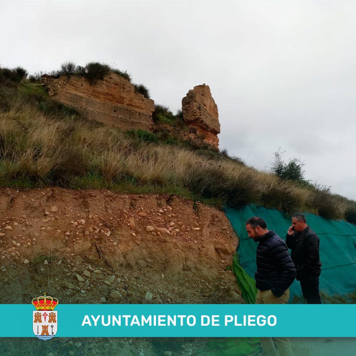 Subvención directa de 125.000 euros para la intervención en la torre y muralla del Castillo de la Mota