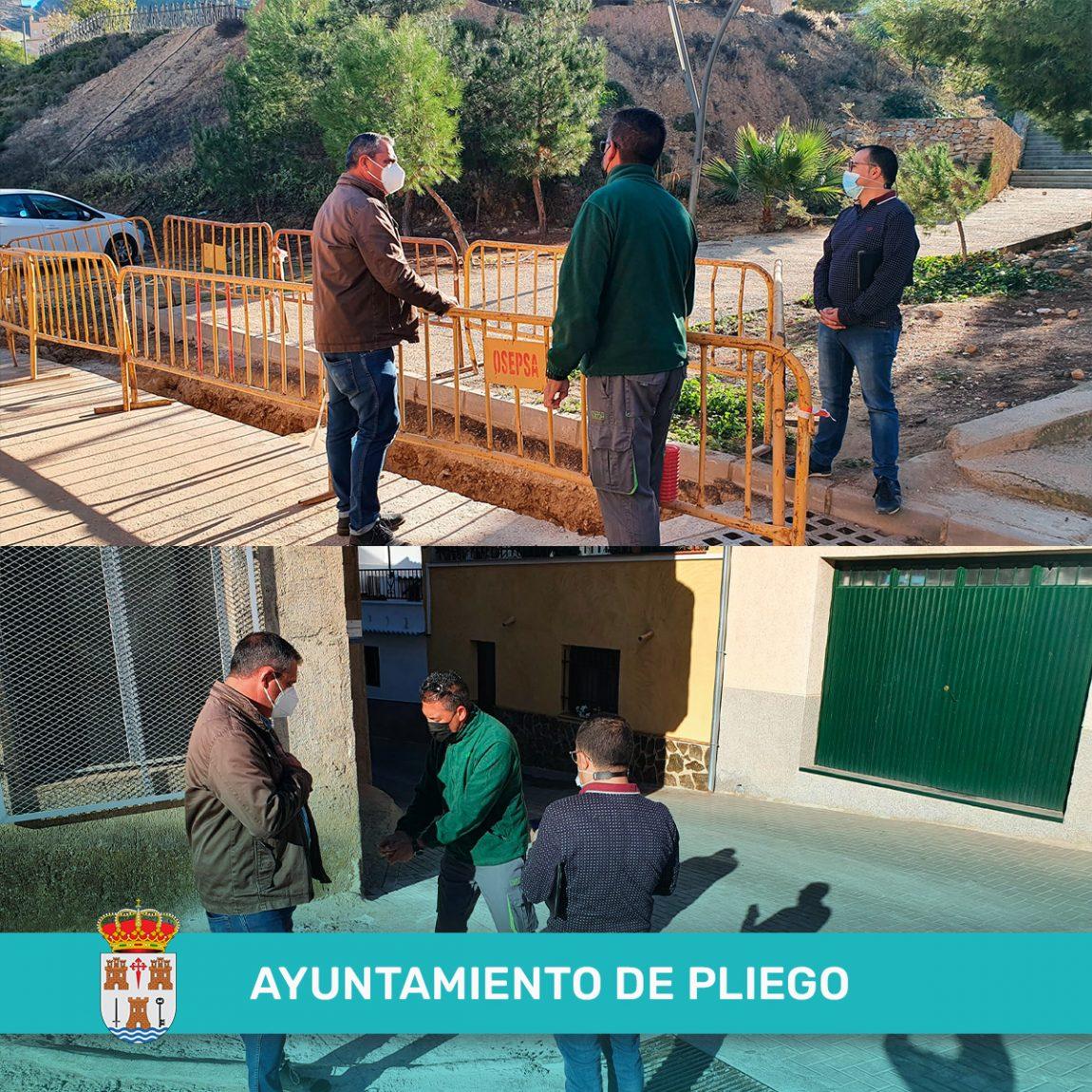 Instalación de rejillas para la recogida de aguas superficiales
