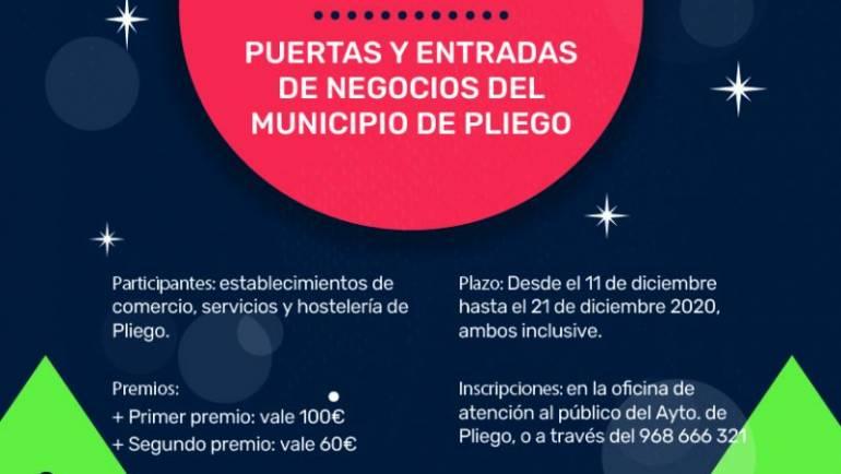 CONCURSO DECORACIÓN NAVIDEÑA DE PUERTAS Y ENTRADAS DE NEGOCIOS