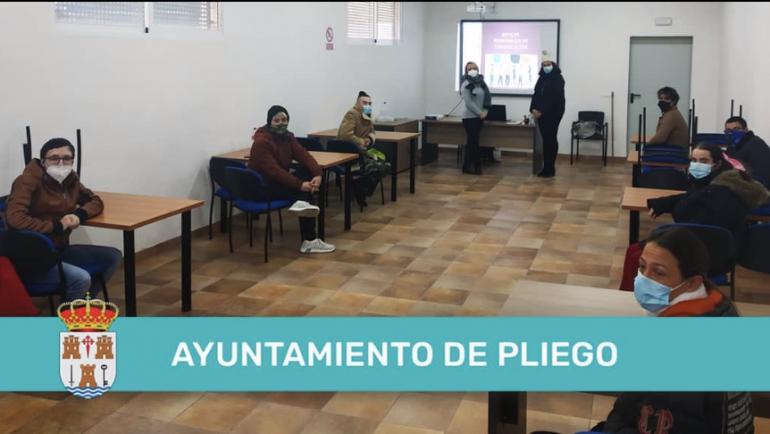 EL AYUNTAMIENTO DE PLIEGO APUESTA POR LA MEJORA DE LA EMPLEABILIDAD ATRAVÉS DEL PROGRAMA ALIQUAM