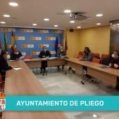 Reunión en la sede de la Confederación Hidrográfica del Segura