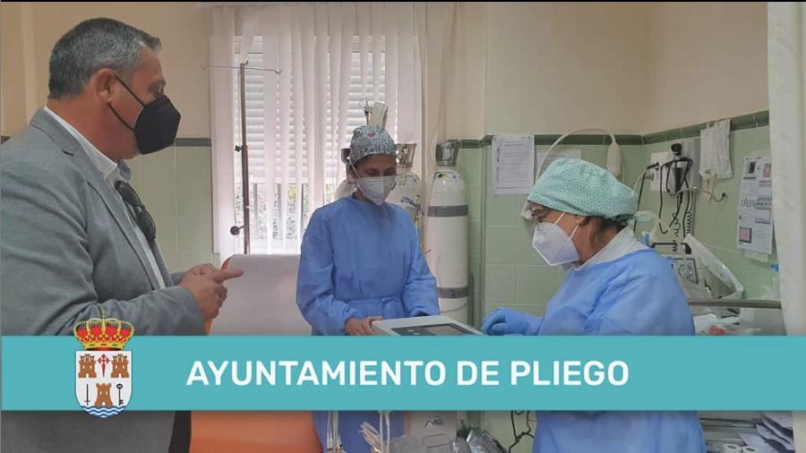Nuevo electrocardiograma en el centro de salud de Pliego