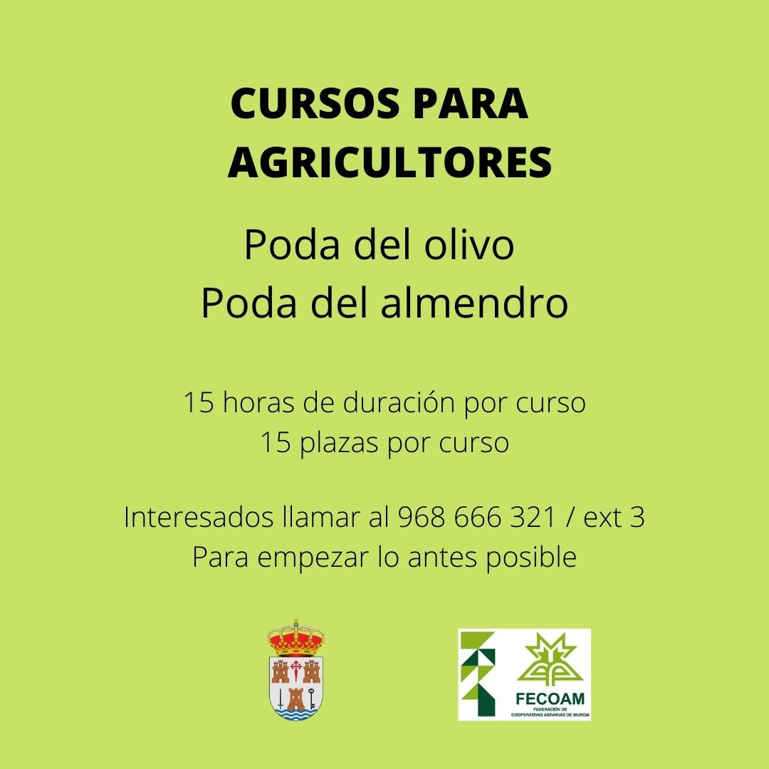 Cursos para agricultores