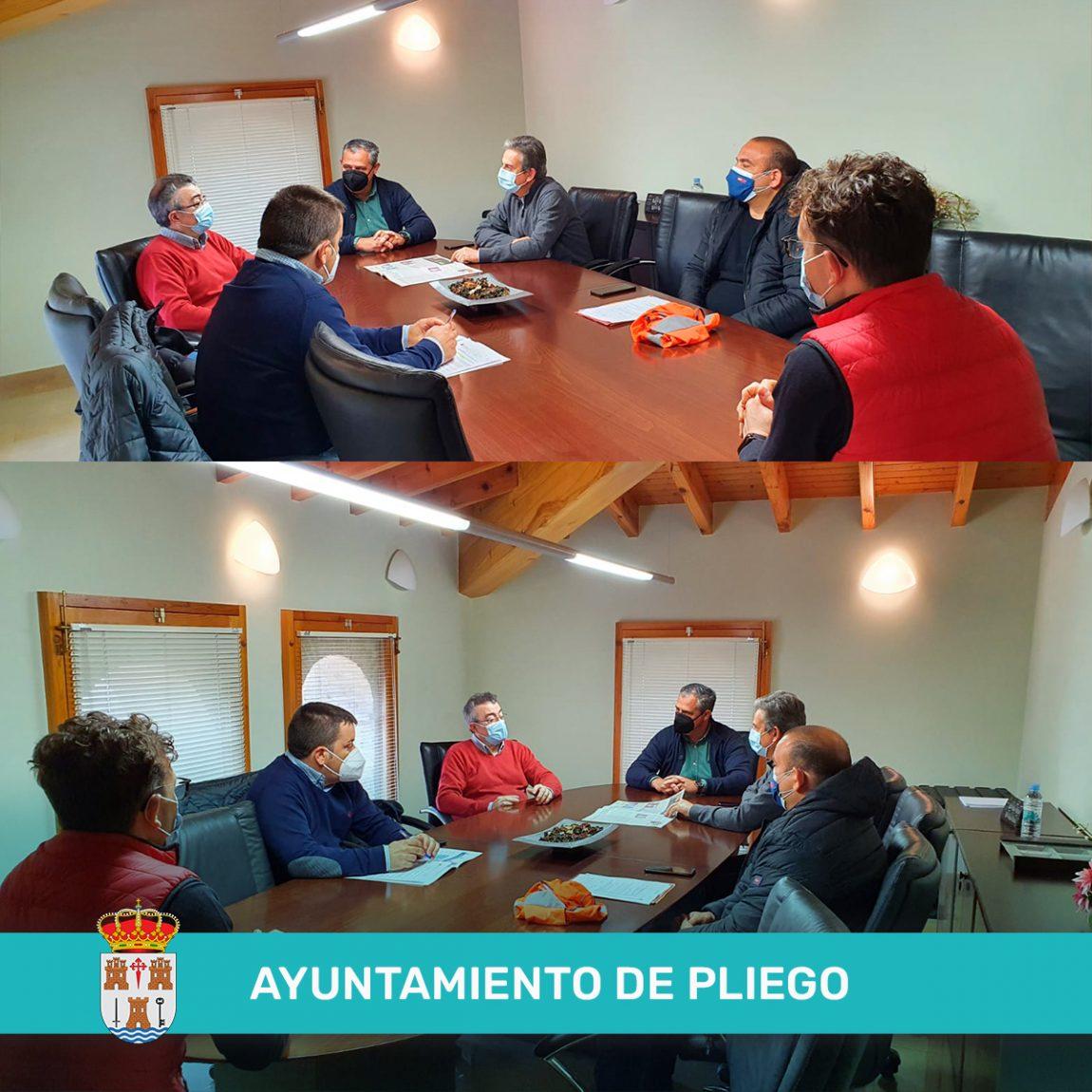 Visita del Director de Carreteras Jose Antonio Fernández Llado.