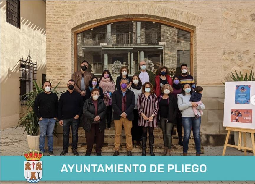 8 DE MARZO. LECTURA DE MANIFIESTO Y PRESENTACIÓN DEL VIDEO CONMEMORATIVO DE LA MUJER DE PLIEGO.