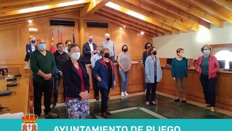 Presentación nueva directiva de la Asociación Española Contra el Cáncer (aecc) de Pliego