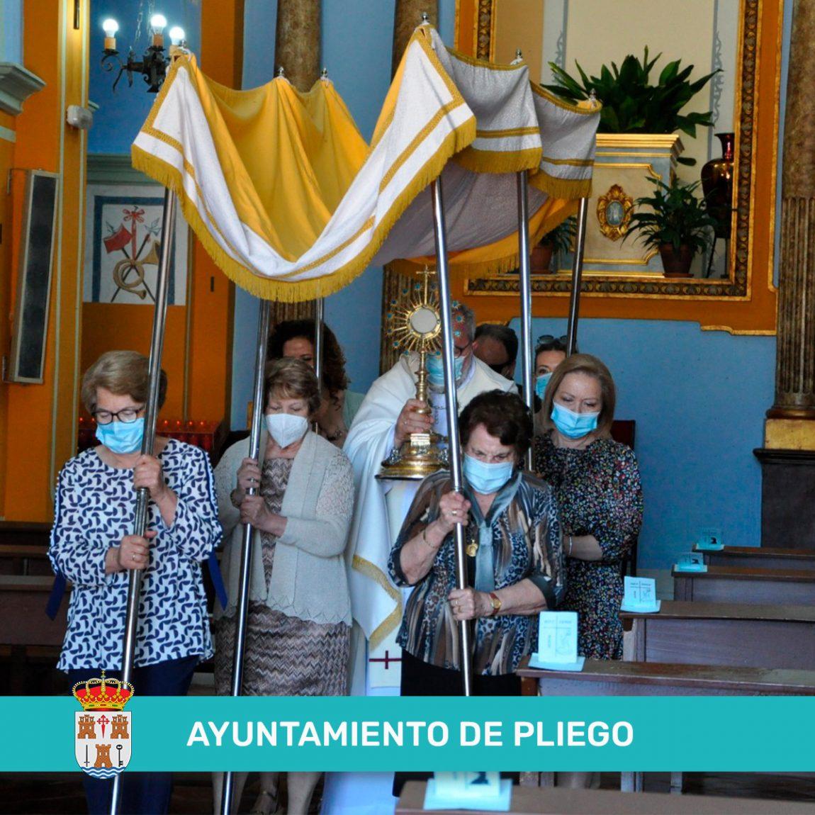 Celebración del día del Corpus Christi