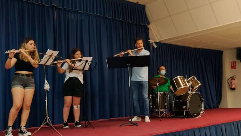 Audición de los alumnos de la banda de música