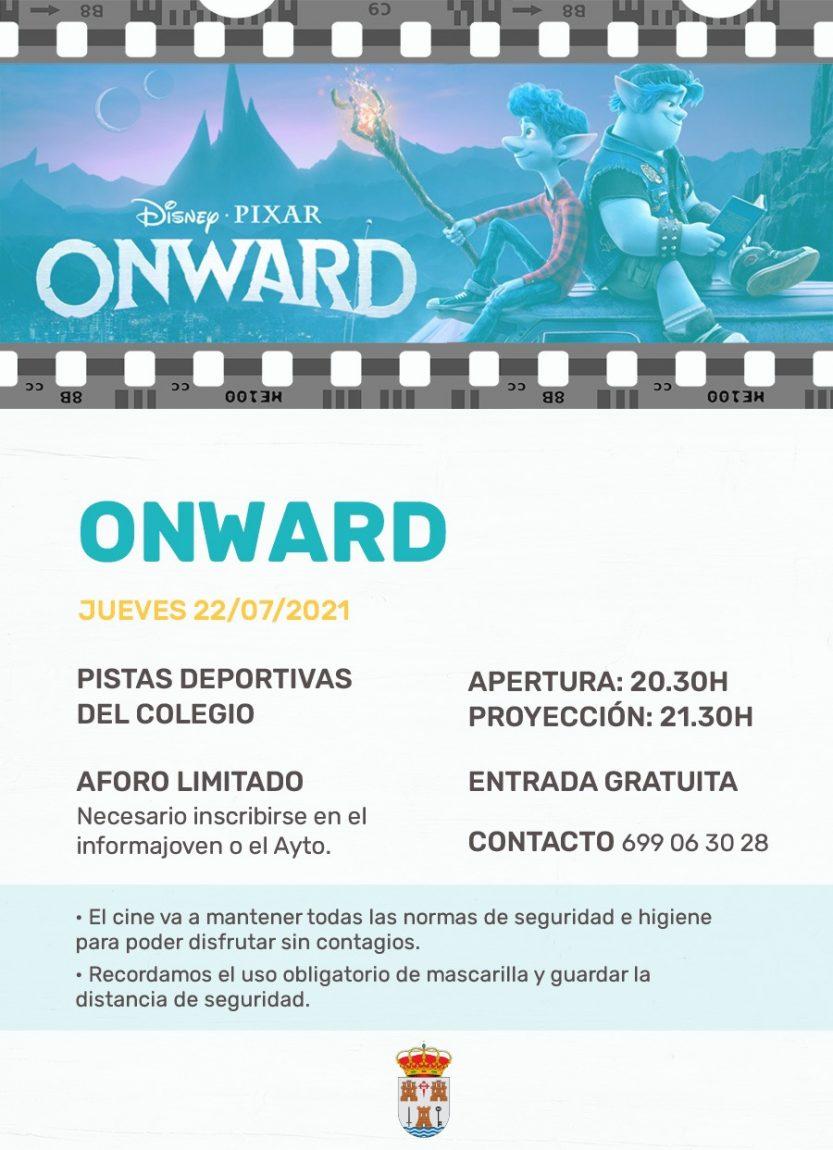 Cine de verano: ONWARD, 22 de julio