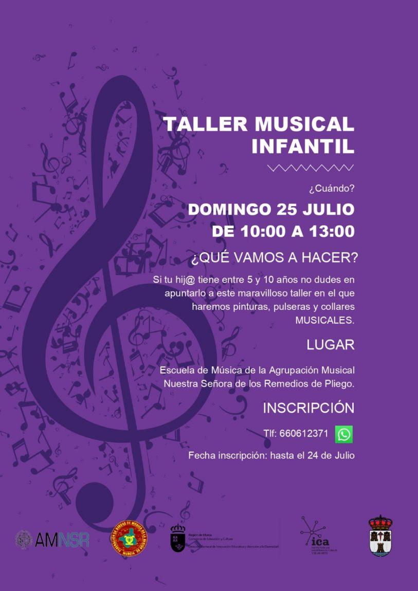 Taller musical infantil, 25 de julio