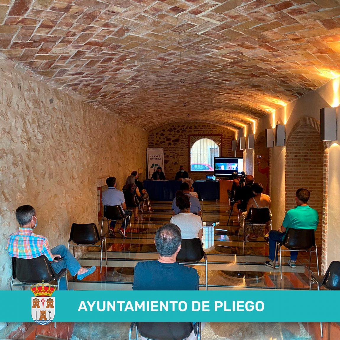 Jornada participativa en Pliego: 'Un Viaje Sostenible' por el 'Territorio Sierra Espuña'.