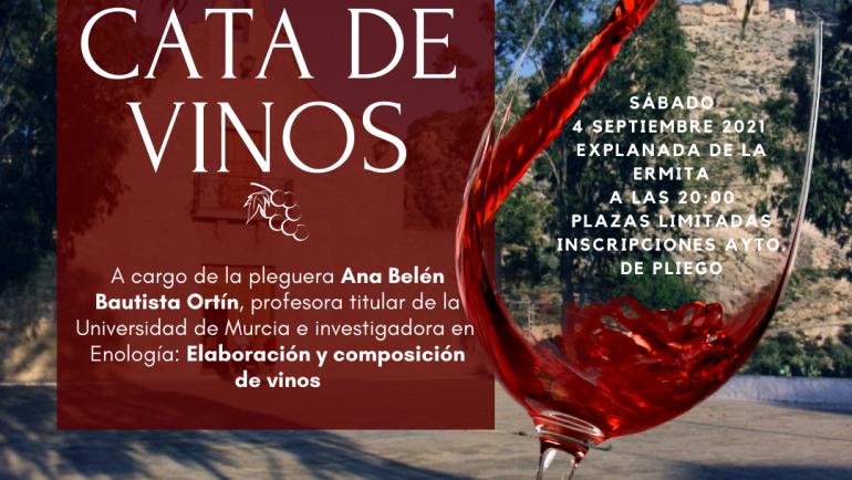 Cata de Vinos organizada por la Concejalía de Turismo