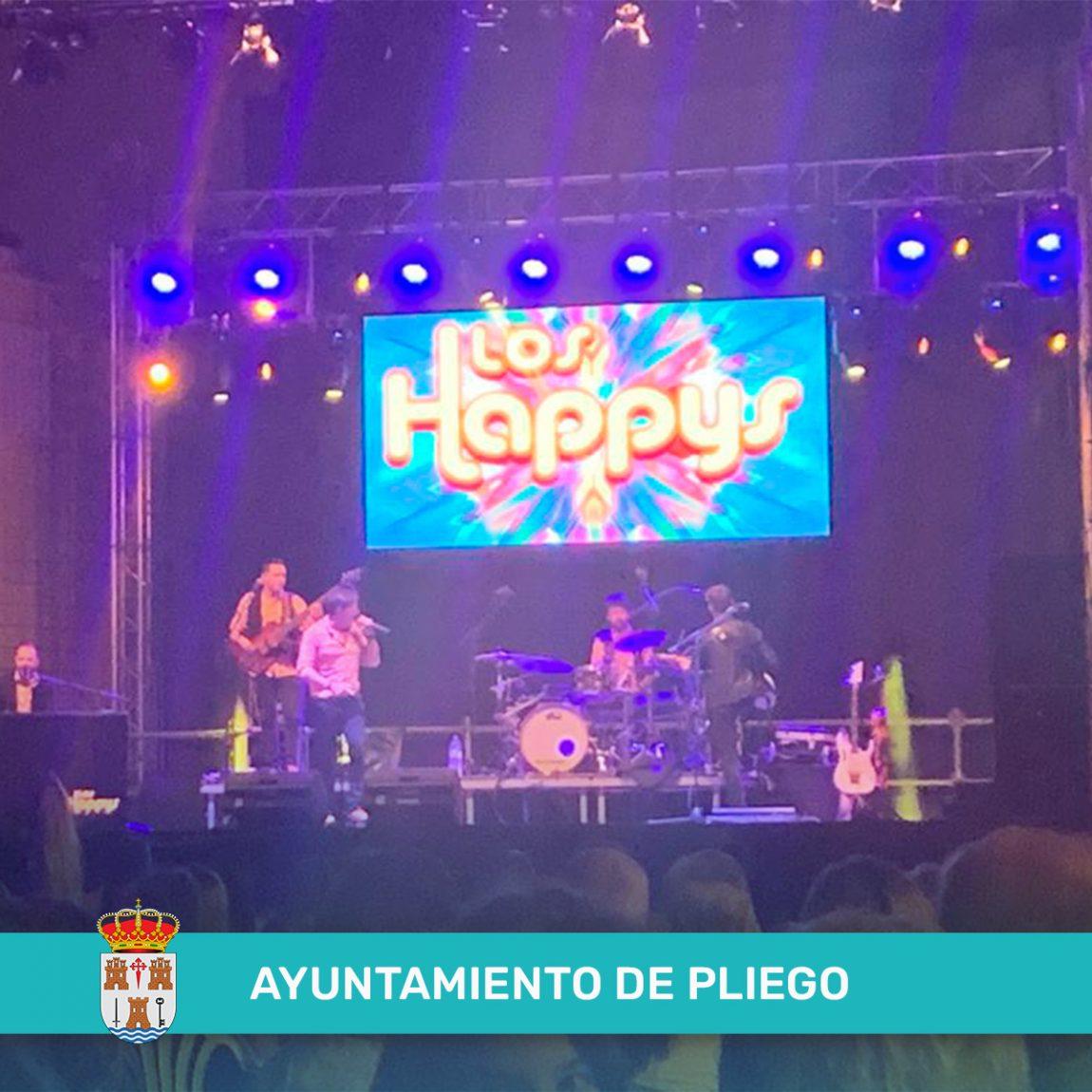 Los Happys en concierto
