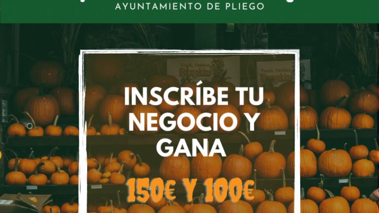 CONCURSO DE DECORACIÓN de comercios en Pliego.  HALLOWEEN 2021